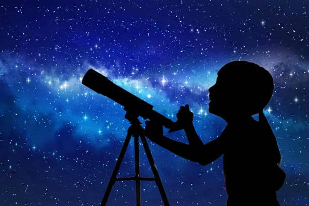 star gazing for kids