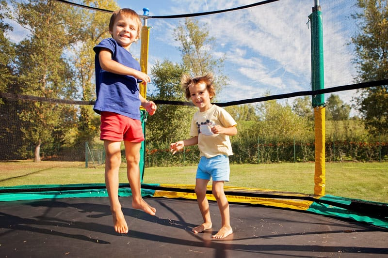 How to Secure A Trampoline in Every Possible Way?