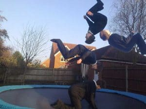 How To Do A Backflip on a Trampoline the Easiest Way