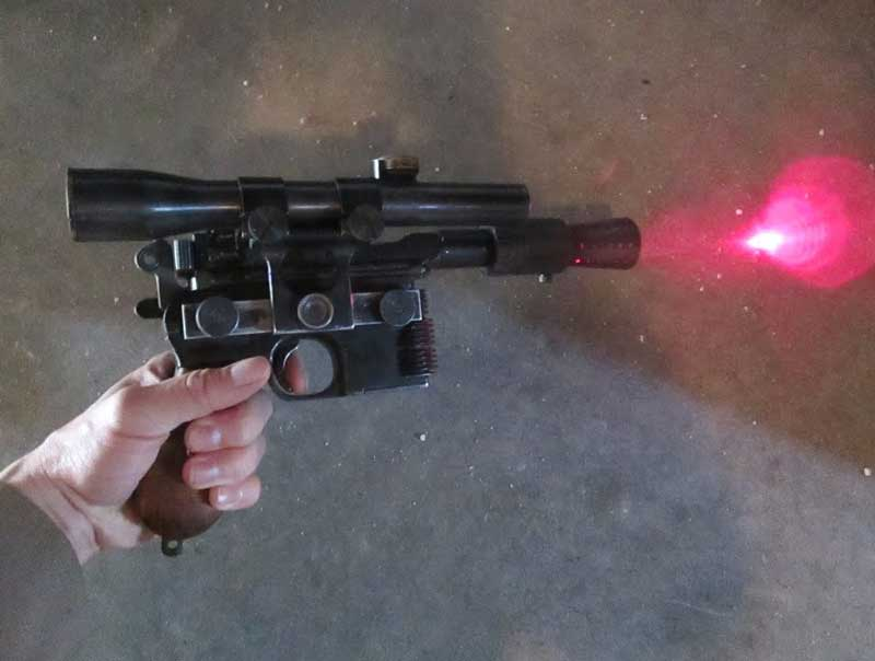How To Make a Homemade Laser Tag Gun?