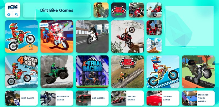 Free Dirt Bike Games Online
