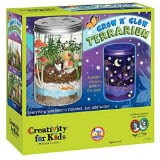 Creativity for Kids - Grow 'n Glow Terrarium - Science Kit for Kids