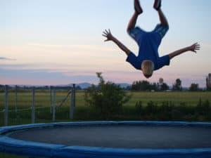 How to make a trampoline bouncier